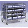 物料盒网型置物车W950×D300×H1050