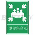 交通标识牌(紧急集合)