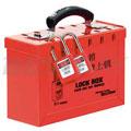 红色便携式集群锁箱