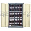 带门零件整理柜W620×D268×H925(75屉PS)