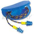 Fusion 专利双重材料 圣诞树型带线耳塞 NRR 27 (大号附塑料盒 )