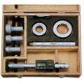 三点式游标孔径千分尺套装2-3mm(无延长杆)