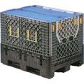 折叠式卡板箱W1200×D1000×H975(灰色)